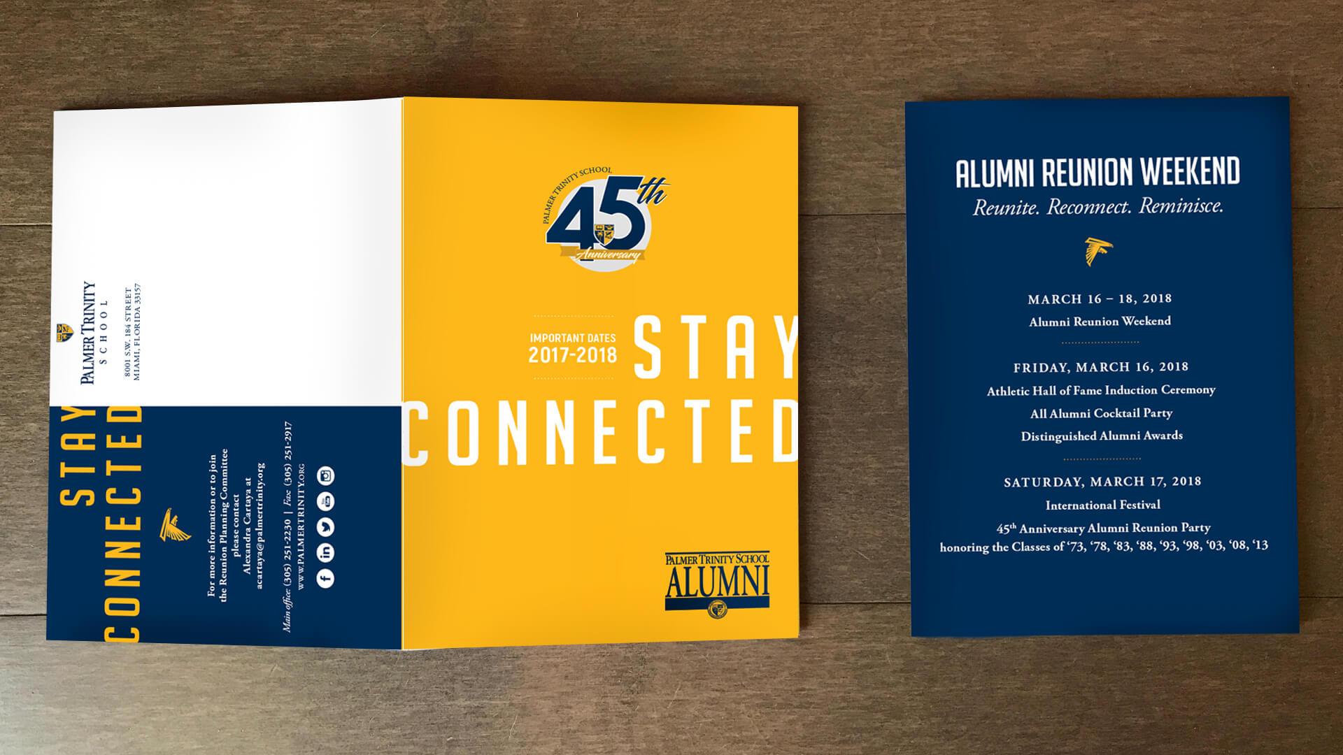 Palmer Trinity School - Alumni Reunion Postcard