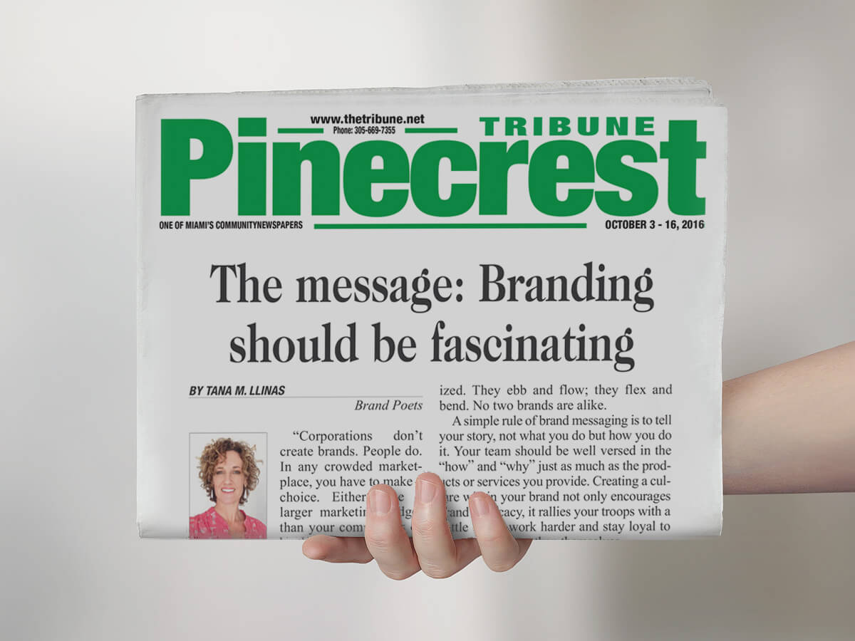 Branding Should Be Fascinating